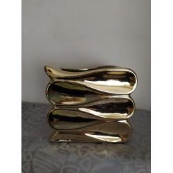 Kvetináč vlna - zlatý 31.112